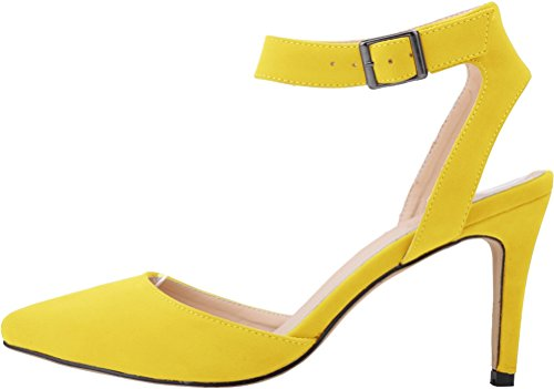 CFP ,  Damen Sling Backs Gelb
