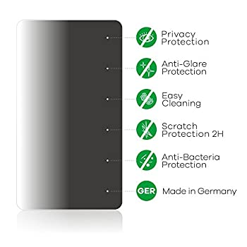 Upscreen Blickschutzfilter Hp Elitedisplay E232 - Privacy Filter Anti-spy Sichtschutz 4