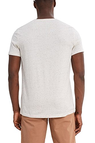 ESPRIT Herren T-Shirt Grün (Light Khaki 345)