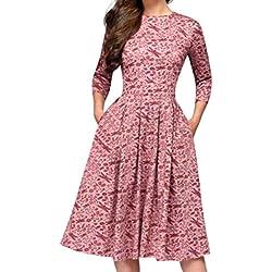 Vectry Vestidos Mujer Vestidos Largos Casual Primavera Vestidos De Verano 2019 Elegante Moda Mujer 2019 Rebajas Vestidos Vestido Corto Verano Vestidos Mujer Casual Vestidos Rosa