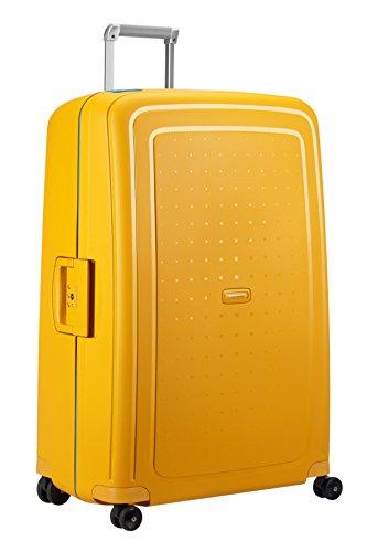 SAMSONITE S'Cure - Spinner 81/30 Bagage cabine, 81 cm, 138 liters,  (Pineapple Yellow/caribb.Bleu)