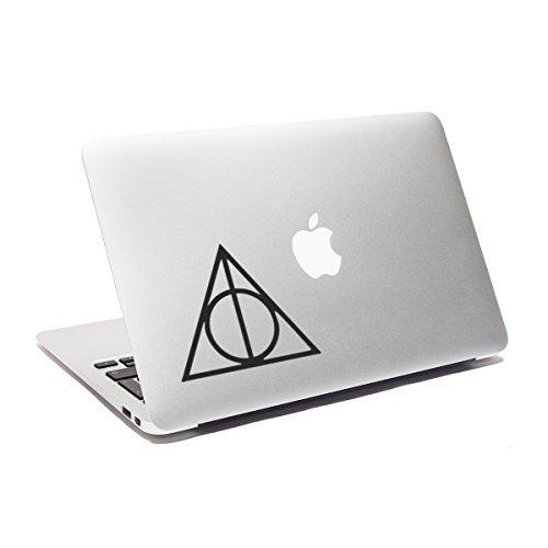 Preisvergleich Produktbild Laptop Aufkleber Die Heiligtümer des Todes, Harry Potter, für MacBook, Auto, Fenster