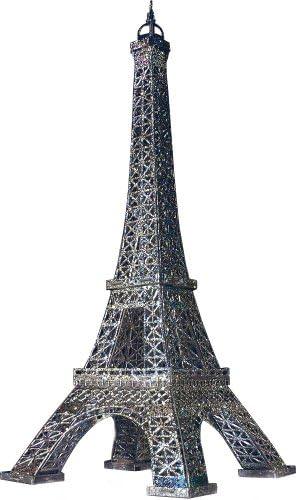 Keranova keranova289–02 Argent Clever Papier BâtiHommes ts historiques de la la la Tour Eiffel 3D Puzzle   Design Attrayant  ed4867