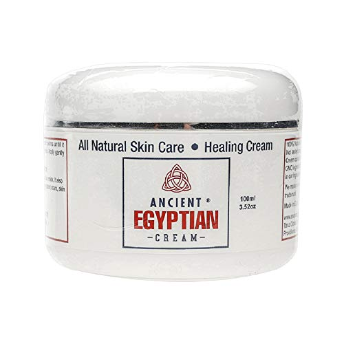 100% natural ingredients. Not tested on animals With its unique formula, Ancient Egyptian Cream contains no additives, added preservatives, parabens or GMO ingredients, instead we utilize the natural preservatives found in our ingredients and are abl...