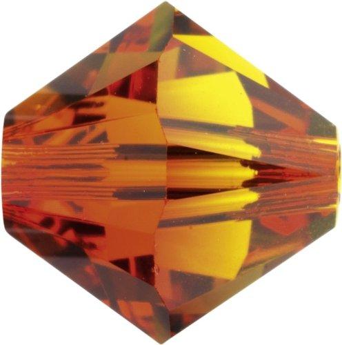 Original Swarovski Elements Beads 5328 MM 4,0 - Olivine (228) ; Diameter in mm: 4.0 ; Packing Unit: 1440 pcs. Fireopal (237)