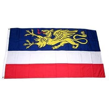 Fahne Mecklenburg Strelitz Hissflagge 90 x 150 cm Flagge