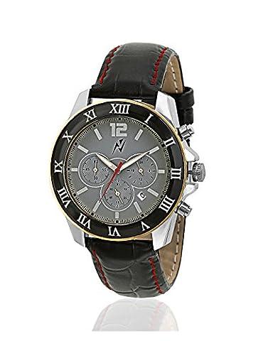 Yepme Herren Chronograph Uhr - Grau / Schwarz