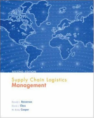 Supply Chain Logistics Management (Operations and Decision Sciences)