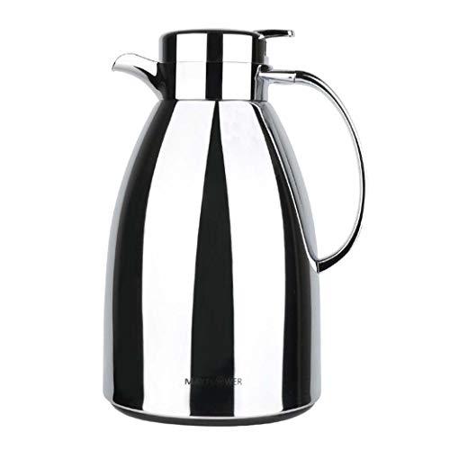 DongYuYuXuXi Edelstahl Isolierung Topf 1.3L große Kapazitäts-Wärmflasche 24-Stunden-Langzeit Thermal Vacuum Thermos Kaffee, Tee, Getränke, Etc.