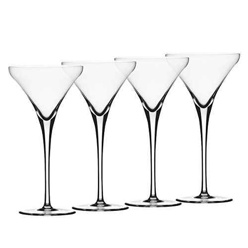 Spiegelau & Nachtmann, 4-teiliges Martini-Set, Kristallglas, 260 ml, Willsberger Anniversary, 1416150