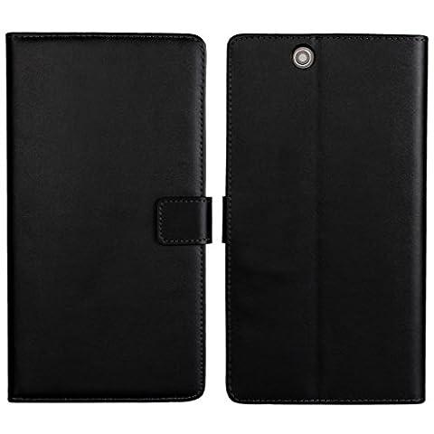 UKDANDANWEI Sony Xperia Z Ultra Etui - Coque en Pochette Portefeuille de Protection Case Cas Cuir Pour Sony Xperia Z Ultra Noir