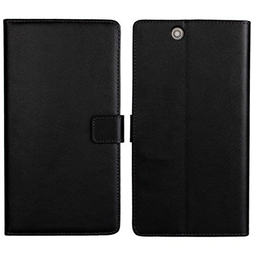 UKDANDANWEI Sony Xperia Z Ultra Hülle - Book-Style Wallet Case Flip Cover Etui Tasche Case mit Standfunktion Für Sony Xperia Z Ultra Schwarz