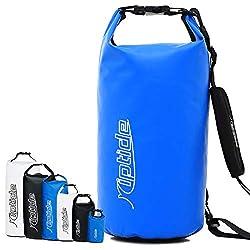 riptide Dry Bag - wasserdichter Packsack mit Umhängegurt   blau   40l