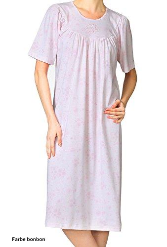 Calida Nightshirt Soft Cotton - Chemise De Nuit - Uni - Femme frappe rose-pink