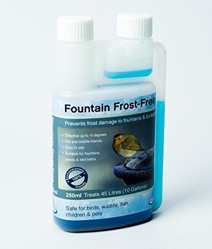 Ambienté Anti-Frost-Mittel für Brunnen, Teiche und Vogelbäder - 250ml
