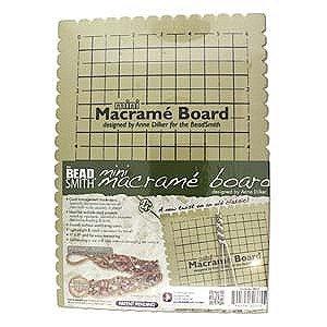 Beadsmith Mini Macrame Project Board-7.5
