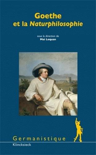 Goethe et la Naturphilosophie