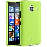 TheBlingZ.® Protective Funda Silicona Gel TPU Para Microsoft Nokia Lumia 640 XL Carcasa Cover Case - Verde