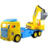 Lukas Truck Toys For Kids, Push And Go Toy For Kids, JCB Toy For Kids, Big