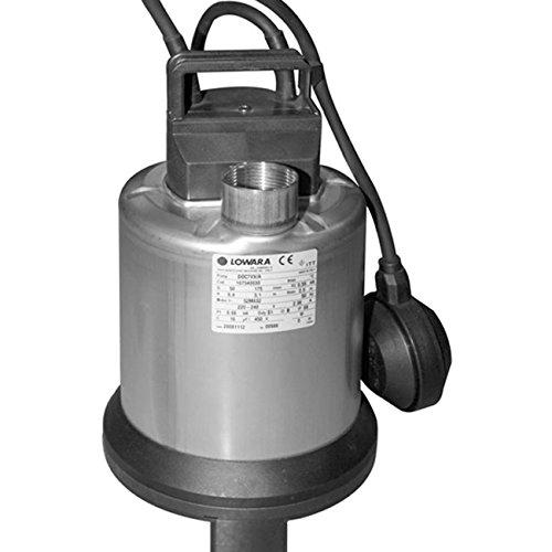 LOWARA TAUCHPUMPEN DOC7VX/A VORTEX Hp 0,75 / 0.55 KW - 1x 220V WITH FLOAT SWITCH (1 Hp Tauchpumpe)