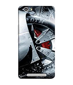 Fuson Designer Back Case Cover for Gionee Marathon M5 lite (Boys Men Man Racer Speed Youth Young)