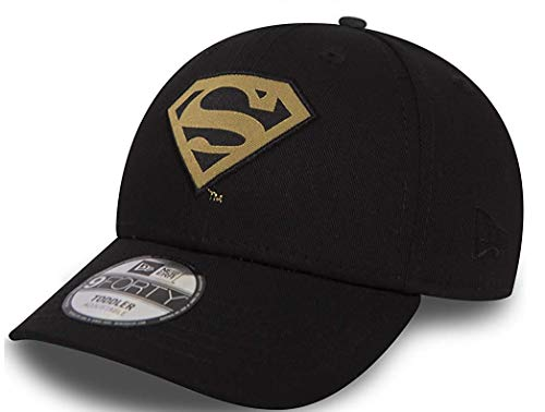 New Era Superman Black Gold Character 9Forty Velcroback Cap Child Kind