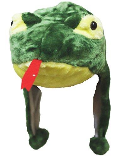 Imagen de petitebelle verde serpiente sombrero máscara unisex para fiestas de disfraces para niños alternativa