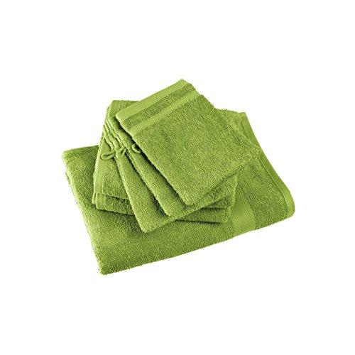 april-gant-de-toilette-100-coton-15-x-21-cm-vert-sable-gris-gauloise-lot-de-12-au-coloris