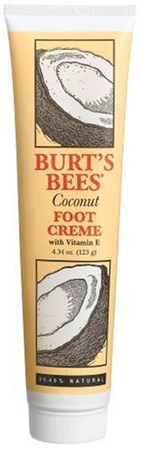 Burt's Bees Coconut Foot Creme with Vitamin E, 4.34 Ounce Tube by Burt's Bees (Burts Bee Coconut Foot Creme)