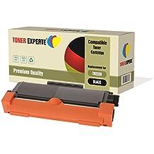 Pack de 2 TONER EXPERTE® Compatibles TN2320 Cartuchos de Tóner Láser para Brother HL-L2300D, HL-L2320D, HL-L2340DW, HL-L2360DN, HL-L2360DW, HL-L2365DW, HL-L2380DW, DCP-L2500D, DCP-L2520DW, DCP-L2540DN, DCP-L2560DW, MFC-L2700DW, MFC-L2720DW, MFC-L2740DW