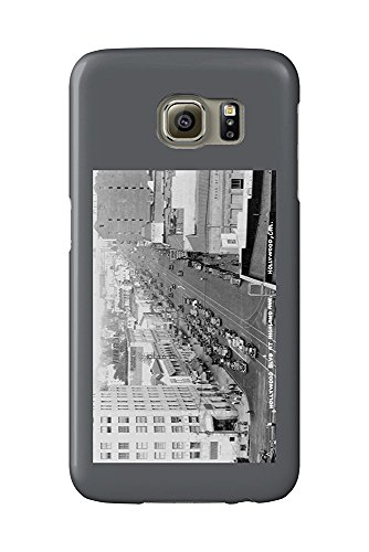 Hollywood, California - Hollywood Blvd and Highland Ave Photograph (Galaxy S6 Cell Phone Case, Slim Barely There)