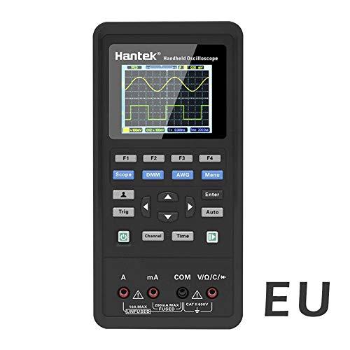 HEIRAO 2 en 1 Digitales Oszilloskop + Multimeter, 2 Kanäle, 40 MHz, LCD-Anzeige, Oszilloskop und Multimeter, tragbarer USB