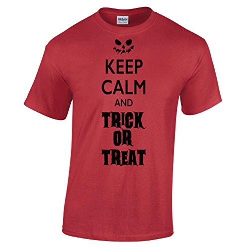 Halten Sie Ruhe und Süßes oder Saures Halloween-Kostüm -