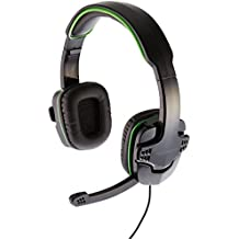 AmazonBasics - Auriculares para Videojuegos, para Xbox One y PS4, Verde