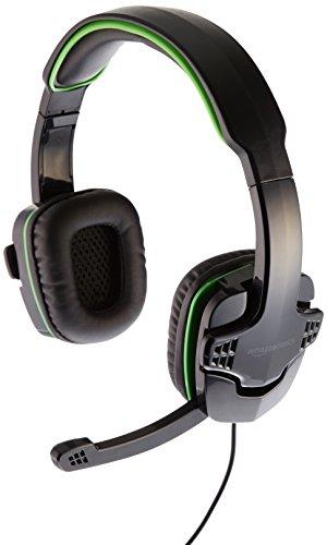 AmazonBasics - Gaming-Headset für die Xbox One, PS4, Grün (Ghost Recon-kopfhörer)