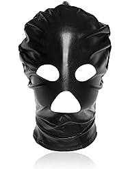YTB Productos sex boca de río, los ojos redondos muestran tapas negras Máscara de rol Después de la cremallera