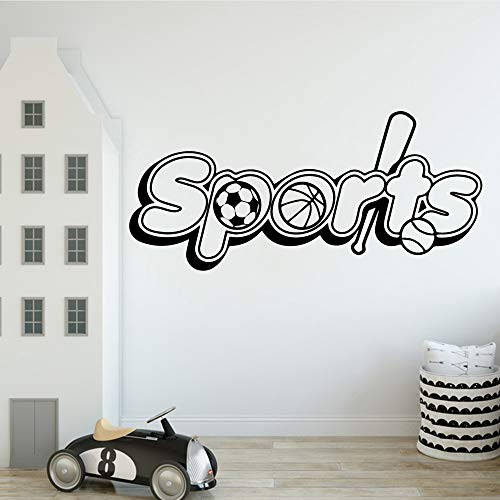 Sport Wandaufkleber Personalisierte Kreative Für Möbel Vinyl Wandtattoo 43 * 95 cm