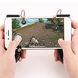 likeitwell Pubg-Gaming-Controller, mobil, Bluetooth, kabellos, Gamepad MV One, für Drei empfindliche Gewächshäuser und die Tasten Aim PUBG Griffe, Spielzubehör