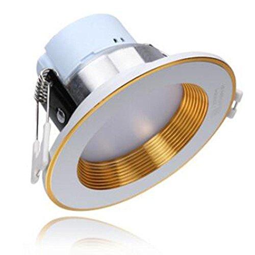 Downlight-kit (Recessed Ceiling LED Einbaustrahler Integriertes Downlight Kit 3w5w12w15w18w Deckenleuchte (4pcak) , 18w)