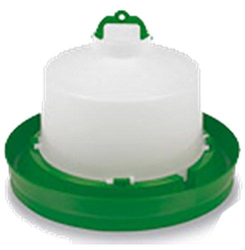 Abreuvoir plastique vert avec bouchon et anse 5L