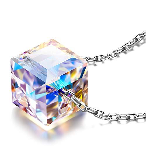 Alex perry san valentino per lei collana donna argento cristallo swarovski idee regalo natale regali donna mamma gioielli donna offerta regali natale divertenti regali divertenti compleanno