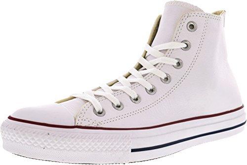 Converse Unisex Adults' All Star Hi Canvas Gymnastics Shoes White Size: 5.5 UK