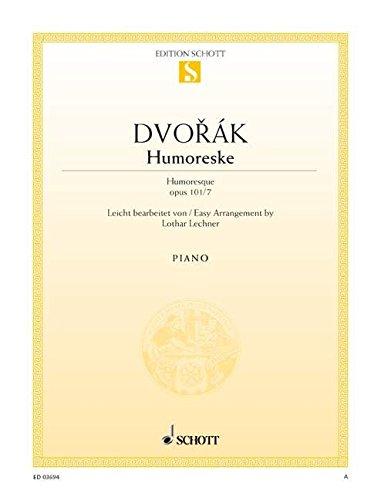 Humoreske Opus 101/7 Piano