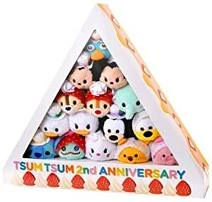 Tsum Tsum 2nd Anniversary Cake Box Set (15 pieces) Disney (Japan Import) by Disney