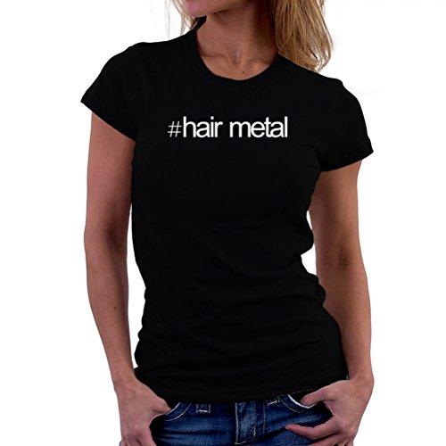 Maglietta da donna Hashtag Hair Metal