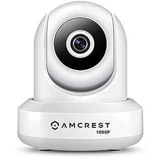 Amcrest ProHD 1080P WiFi Wireless IP Security Camera - 1080P (1920TVL), IP2M-841W (White)