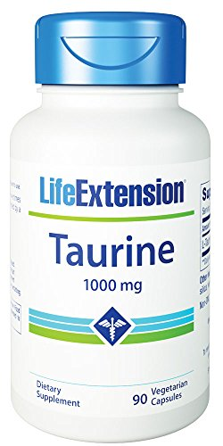 Life Extension, Taurine, 1000 mg, 50 Capsules