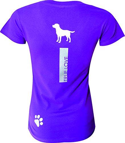 EKEKO SPORT Damen T-Shirt Violett - Silber