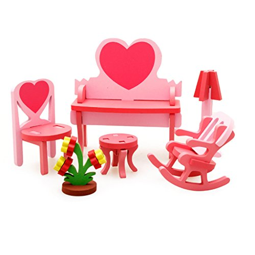 3d Bambole Fai Da Te Di Assemblaggio Casa Mobili Giocattoli-dresser Kit
