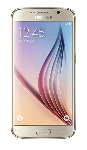 Samsung Galaxy S6 UK SIM-Free Android Smartphone - Gold (Renewed)